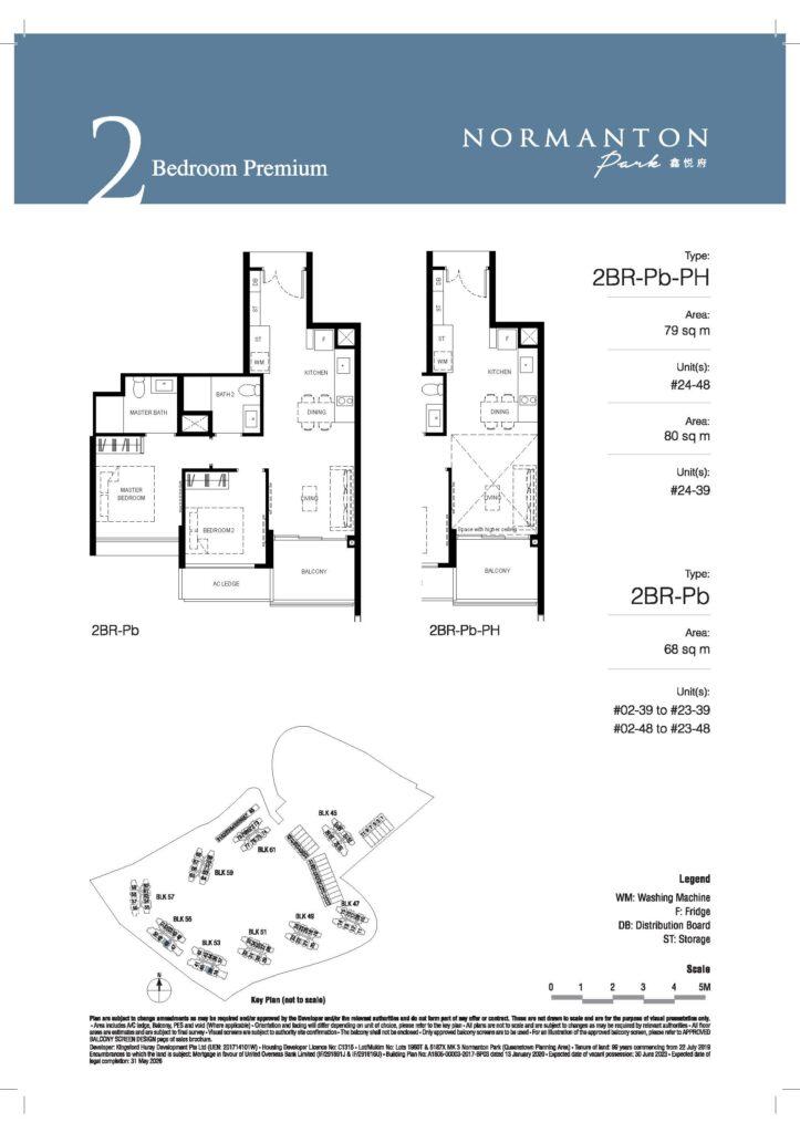 normanton park 2 bedroom unit floor plan